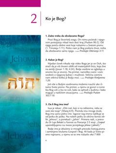 Drugi deo u brošuri Dobre vesti iz Svetog pisma