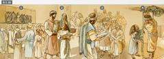 Ngɛ jeha 455L.F.K. ngɛ Tishri nyɔhiɔɔ miɔ, Israel biɔmɛ bua a he nya nɛ a ja Mawu, nɛ a ngɔ blɔ tsɔɔmihi, nɛ a ye Gbasisihimi Nyamiɔ