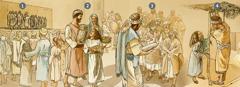 Israelitas tamakxtumikgo xlakata nakakninanikgo Dios, xkawanika tuku natlawakgo chu xtlawakgolh paskua xla Laktsu Chiki kpapa' tisri xla kata455 a. n. J.