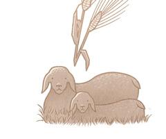 Los primeros frutos de la cosecha y un primogénito del rebaño