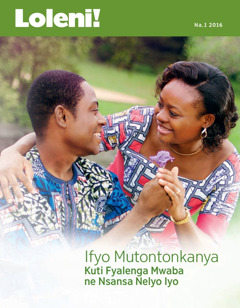 Magazini yakwe Loleni!, Na. 1 2016   Imiyele Iikapusanya Antu Uku Yauze!