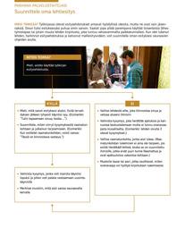 Paranna palvelustaitojasi: Suunnittele oma lehtiesitys