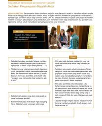 Tingkatkan Kemahiran Aktiviti Penyebaran—Sediakan Penyampaian Majalah Anda