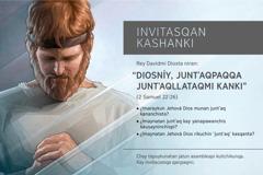 Kinsa p'unchay asambleapaq invitación 2016