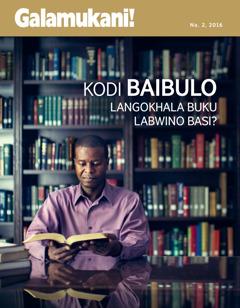 Magazini ya Galamukani! Na. 2 2016 | Is the Bible Just a Good Book?