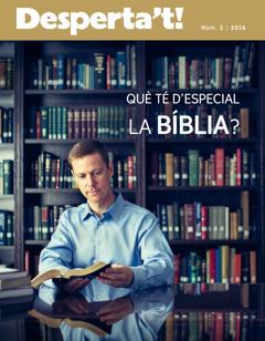 Revista Desperta't!, núm. 2, 2016 | Què té d'especial la Bíblia?