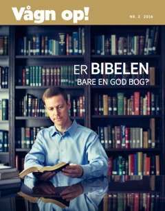 Vågn op!, nr. 2 2016 | Er Bibelen bare en god bog?