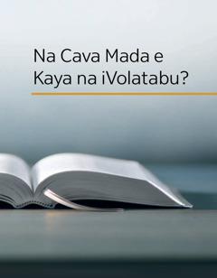 Na Cava e Kaya na iVolatabu?