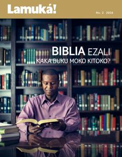 Zulunalo Lamuká!, No. 2 2016   Biblia ezali kaka buku moko kitoko?