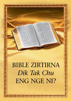 Bible Zirtîrna Dik Tak Chu Eng Nge Ni?