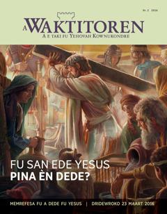 A Waktitoren Nr. 1 2016 Fu san ede Yesus pina èn dede