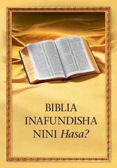 Biblia Inafundisha Nini Hasa?