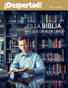 Rebista ¡Despertad! 2016, número 2| ¿Es la Biblia un libro más?