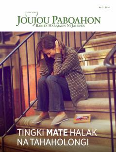 Joujou Paboahon No. 3 2016 | Tingki Mate Halak na Tahaholongi