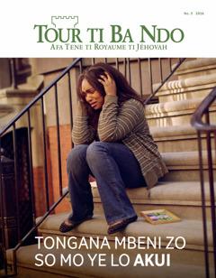 Tour ti Ba Ndo No. 3 2016 | Tongana mbeni zo so e ye lo mingi akui