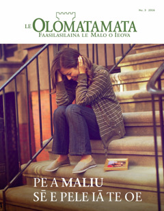 Le Olomatamata Nu. 3 2016 | Pe a Maliu Sē e Pele iā te Oe