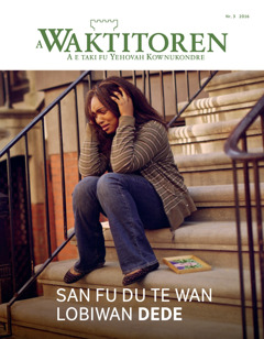 A Waktitoren Nr. 3 2016 | San fu du te wan lobiwan dede