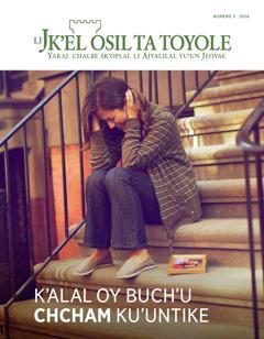Li Jk'el osil ta toyole (ta pajina16), número 3ta2016 | K'alal oy buch'u chcham ku'untike