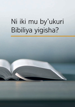 Ni iki mu by'ukuri Bibiliya yigisha?