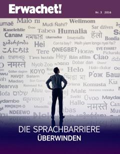 Daut Erwachet! Nr. 3 2016 | Die Sprachbarriere überwinden
