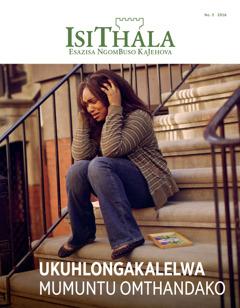 IsiThala, No. 3 2016 | Ukuhlongakalelwa Mumuntu Omthandako
