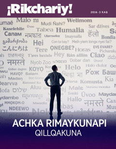 2016-3 KAQ ¡Rikchariy! qillqa | Achka rimaykunapi qillqakuna