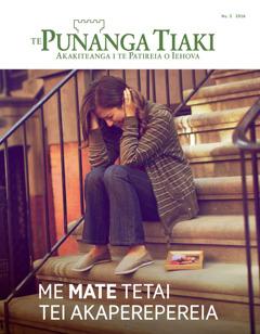 Te Punanga Tiaki Nu. 3 2016 | Me Mate Tetai Tei Akaperepereia