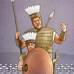 Goliat dan pelayannya