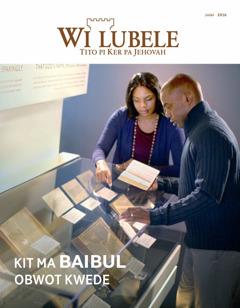 Wi Lubele me dwe me 4   Baibul—Kit ma Obwot Kwede