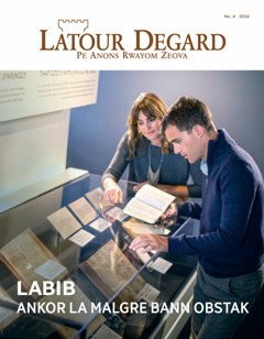 Latour Degard No. 4   Labib—Ankor La Malgre Bann Obstak