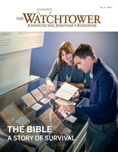 The Watchtower Nɔ. 4 2016| The Bible—A Story of Survival