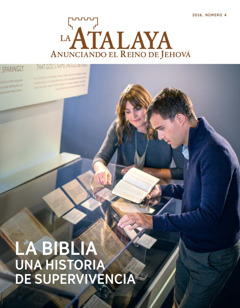 Täräkwata La Atalaya, número 4 2016 | La Biblia. Una historia de supervivencia