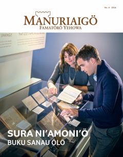 Manuriaigö No. 4 | Sura Ni'amoni'ö—Buku Sanau Ölö