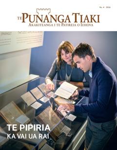Te Punanga Tiaki Nu. 4 2016 | Te Pipiria