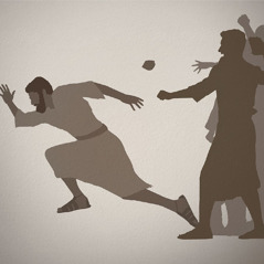 A first-century Christian flees from persecutors