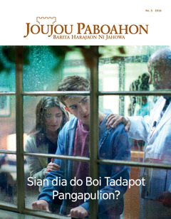 Joujou Paboahon No. 5 2016 | Sian dia do Boi Tadapot Pangapulion?