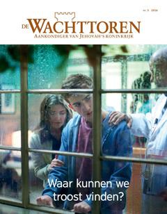 De Wachttoren, nr. 5 2016 | Waar kunnen we troost vinden?