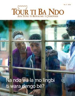 Tour ti Ba Ndo No. 5 2016 | Mo lingbi ti wara dengo bê na ndo wa?