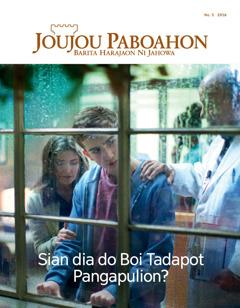 Joujou Paboahon No. 5 2016   Sian dia do Boi Tadapot Pangapulion?