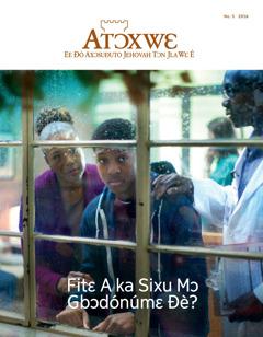 Atɔxwɛ No. 52016 | Fitɛ A ka Sixu Mɔ Gbɔdónúmɛ Ðé?