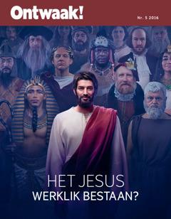 Ontwaak! Nr. 52016 | Het Jesus werklik bestaan?