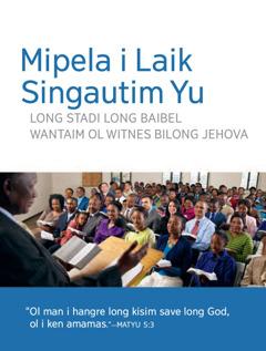 Invatesen Bilong Singautim Ol Man i Kam Long Miting