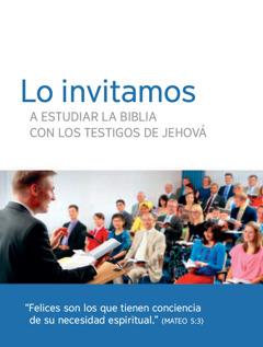 Invitación para las reuniones