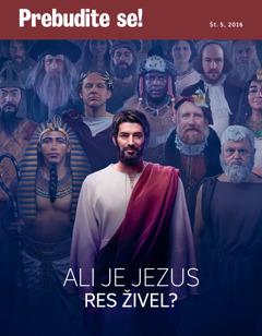Prebudite se!, št. 5 2016 | Ali je Jezus res živel?