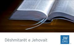 Një kartëvizitë që tregon një Bibël të hapur