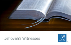A jw.org contact card showing an open Bible