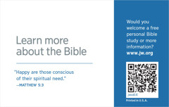 The back of a jw.org contact card