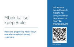 Kad jw.org emi owụtde nte Ntiense Jehovah okotde Bible ọnọ owo