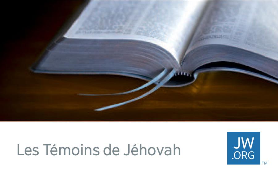 Une Carte De Visite Jworg Sur Laquelle Est Reprsente Bible Ouverte