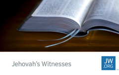 One jw card dey show Bible wey dey open